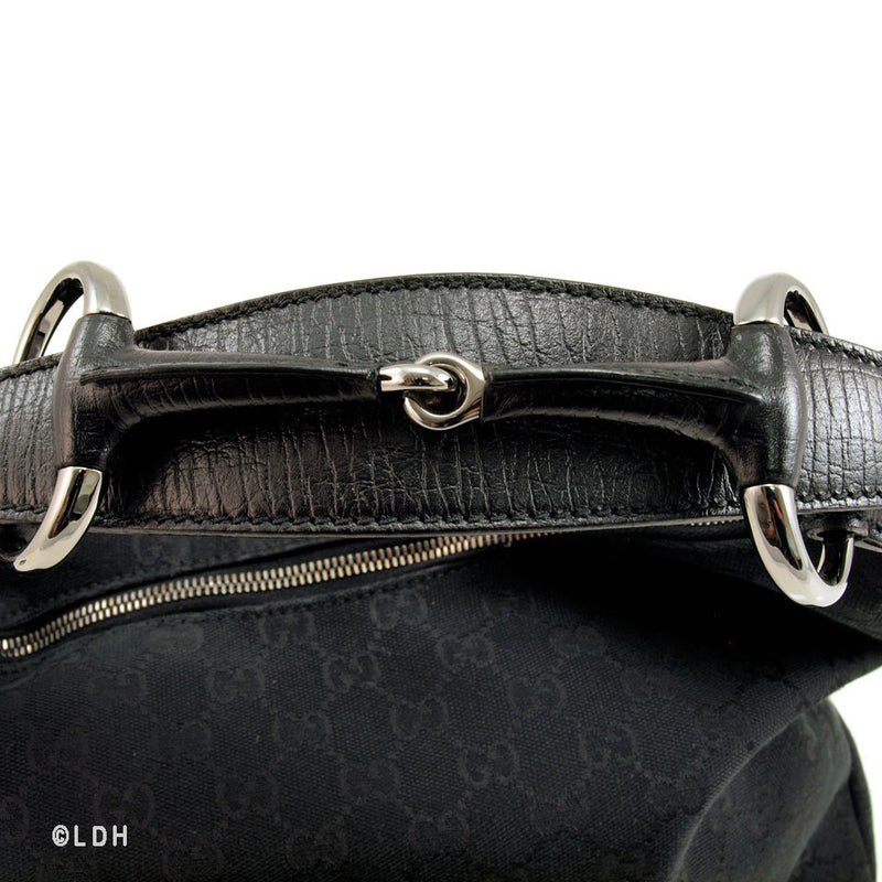 Gucci Black Monogram (Authentic Pre Owned)