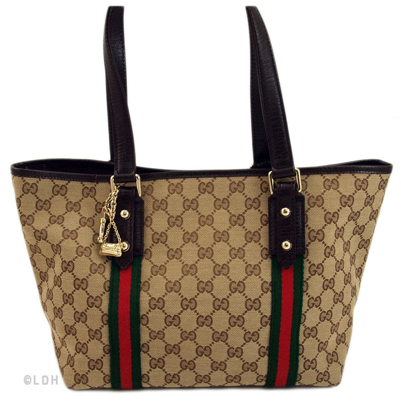 Gucci Medium Tote with Charms (Authentic Pre Owned)