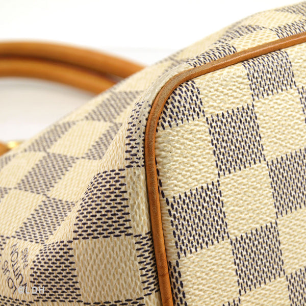 Louis Vuitton Damier Azur Saleya PM (Authentic Pre Owned)
