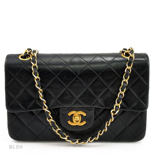 Chanel Quilted Lambskin Double Flap 2.55 (Authentic Pre Owned)