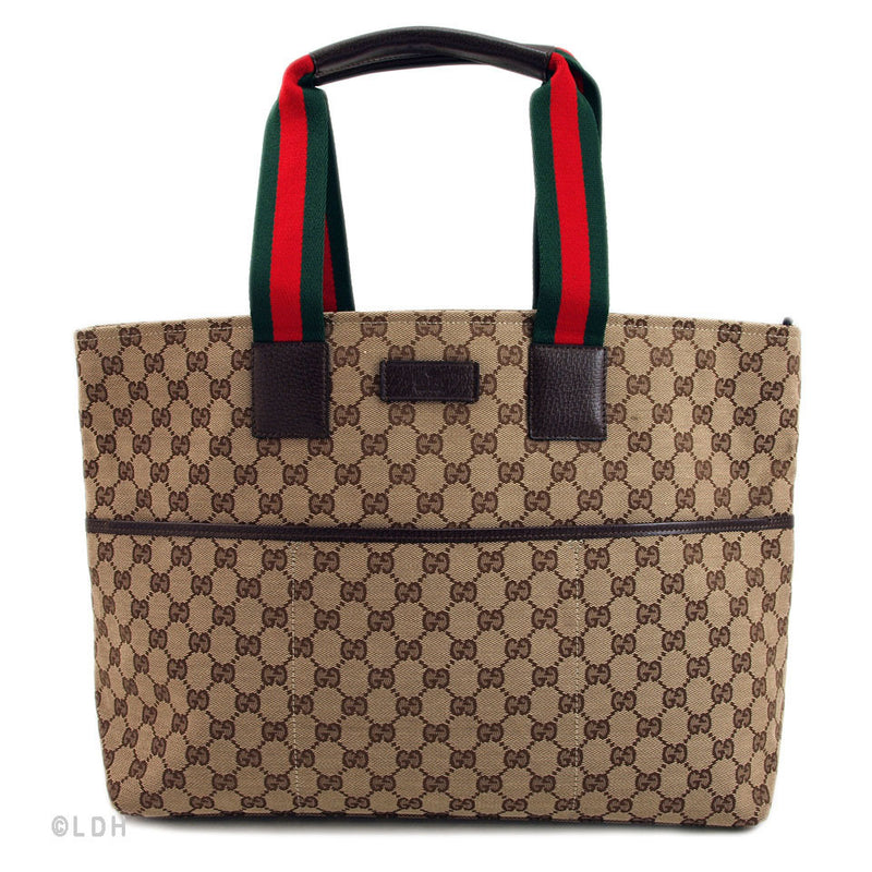 Gucci Tan Shopping Tote (Authentic Pre Owned)