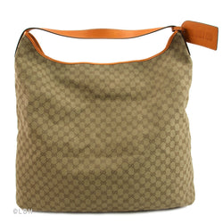Gucci Monogram Canvas Shoulder Cruise Collection (Authentic Pre Owned)