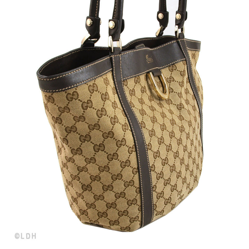 Gucci Monogram Tote______(Authentic Pre Owned)
