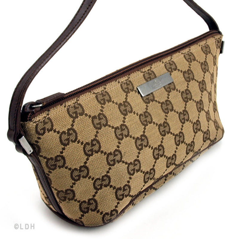 Gucci Beige Pouch (Authentic Pre Owned)