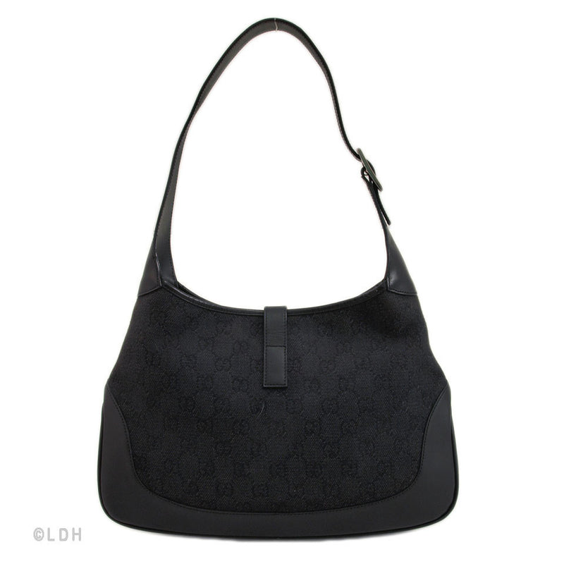 Gucci Black Monogram Jackie O (Authentic Pre Owned)