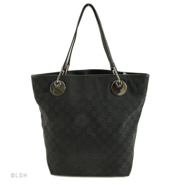 Gucci Black Bucket Tote (Authentic Pre Owned)