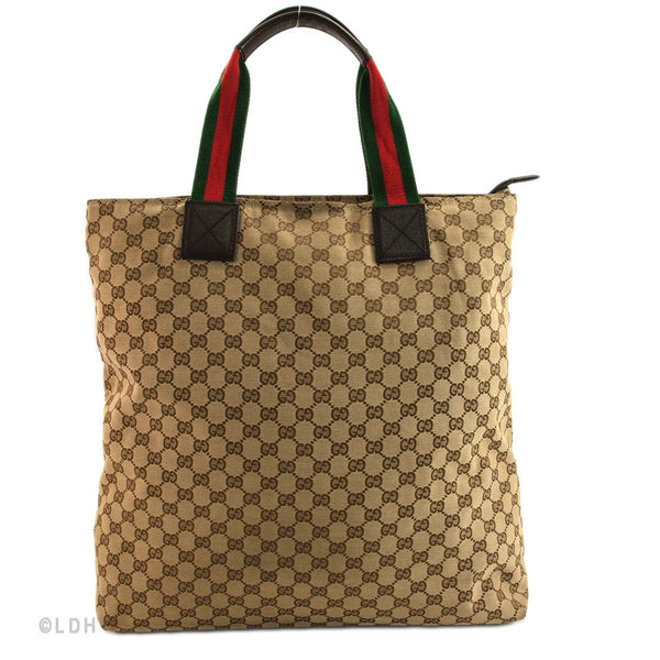 Gucci Beige Shopper Tote (Authentic Pre Owned)