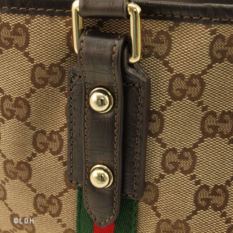 Gucci Shopper Tote with Charms (Authentic Pre Owned)