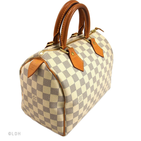 Louis Vuitton Damier Azur Speedy 25 (Authentic Pre Owned)