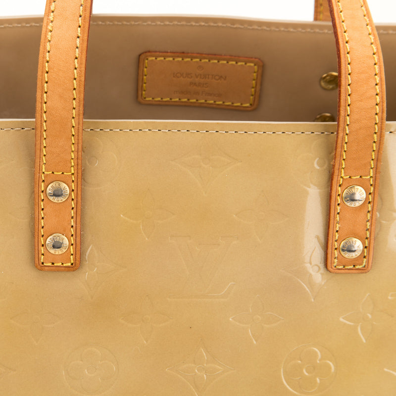 Louis Vuitton Beige Vernis Reade GM (Authentic Pre Owned)