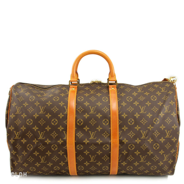 Louis Vuitton Keepall 55 with Straps (Authentic Pre Owned)