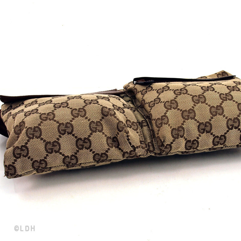 Gucci Monogram Waist Bag (Authentic Pre Owned)