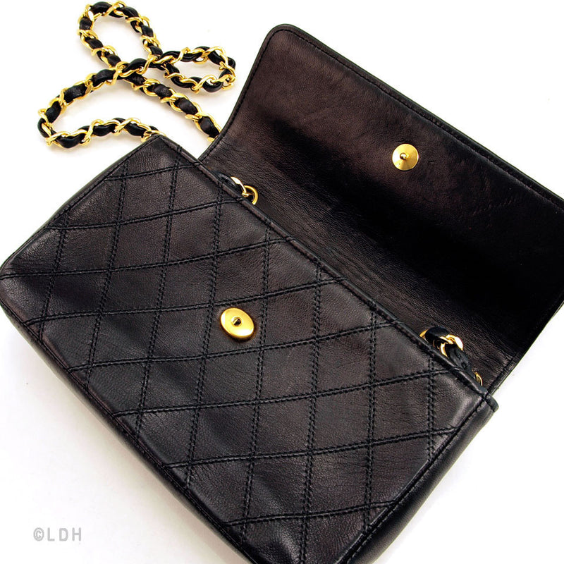 Chanel Black Mini Flap (Pre Owned)