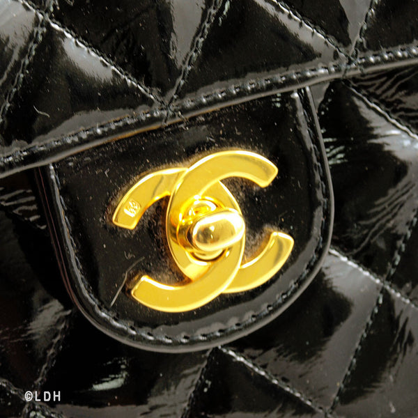 Chanel Patent Mini Flap  (Pre Owned)