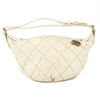 Chanel Cream Quilted Shoulder (Pre Owned)