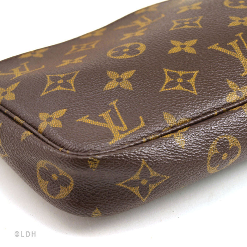 Louis Vuitton Monogram Pochette with Long Strap (Authentic Pre Owned)