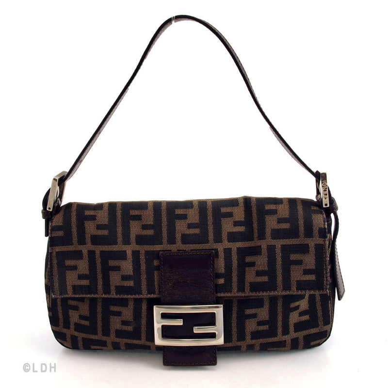 Fendi Zucchino Baguette (Authentic Pre Owned)