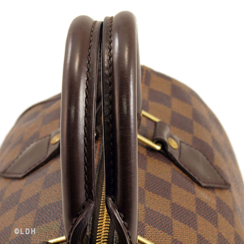 Louis Vuitton Damier Ebene Speedy 30 (Authentic Pre Owned)
