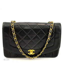 Chanel Black Lambskin Single Chain (Pre Owned)