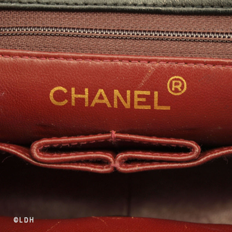 Chanel Classic Quilted Lambskin Flap (Authentic Pre Owned)