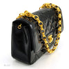 Chanel Patent Mini Flap with Gold Chain (Authentic Pre Owned)
