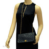 Chanel Black Quilted Lambskin Flap (Authentic Pre Owned)