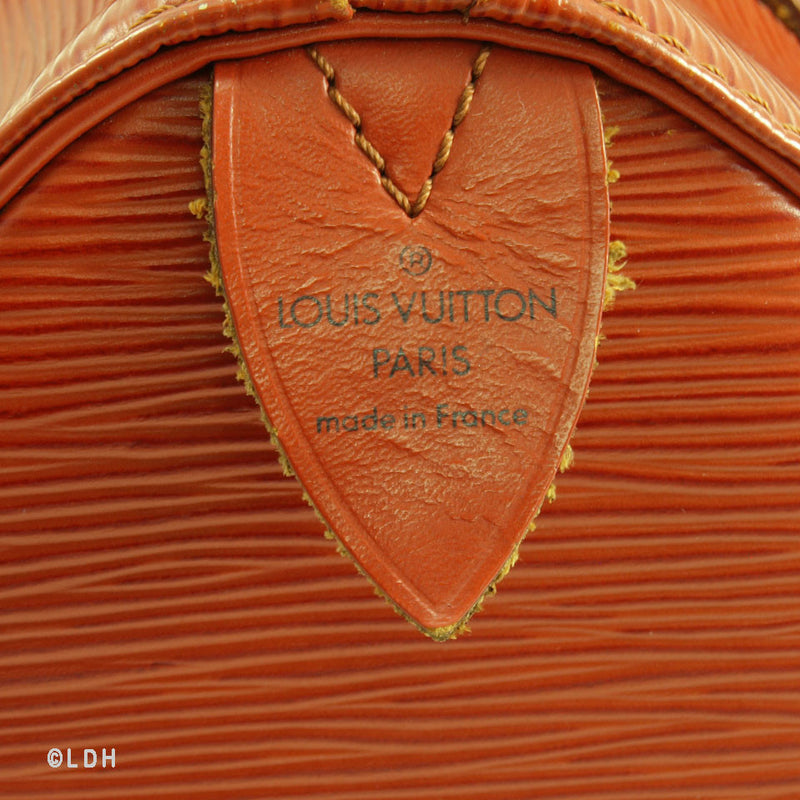 Louis Vuitton Epi Speedy 25 Fawn (Authentic Pre Owned)