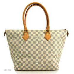 Louis Vuitton Damier Azur Saleya MM (Authentic Pre Owned)