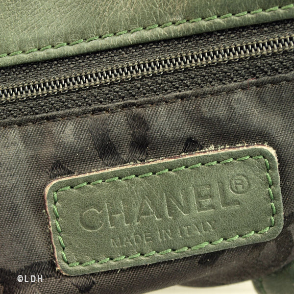 Chanel Large Lambskin Shopper Tote (Authentic Pre Owned)