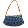 Louis Vuitton Monogram Denim Blue Mini Pleaty (Authentic Pre Owned)