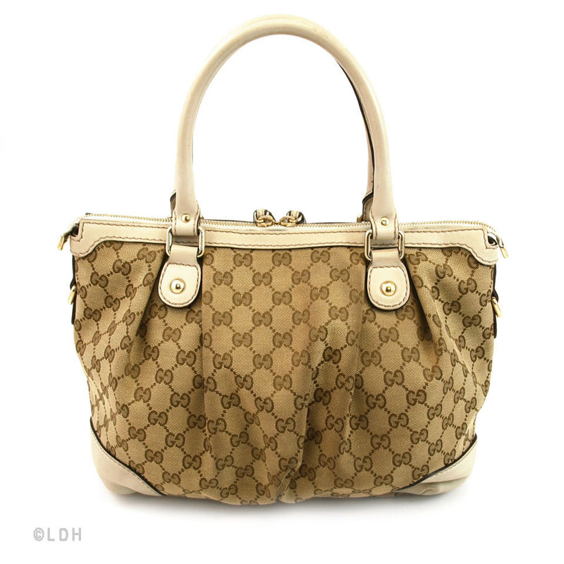 Gucci Monogram Sukey Sling (Authentic Pre Owned)