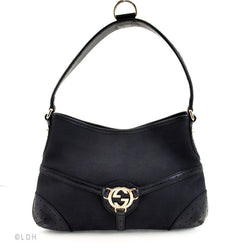 Gucci Black Shoulder (Authentic Pre Owned)