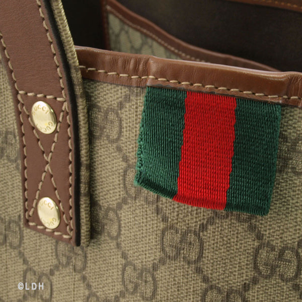 Gucci PVC Tote (Authentic Pre Owned)
