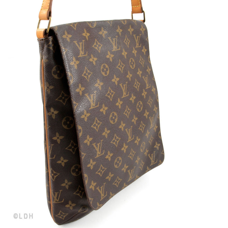 Louis Vuitton Monogram Canvas Musette Salsa GM (Authentic Pre Owned)