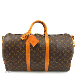Louis Vuitton Keepall 50 with Straps (Authentic Pre Owned)
