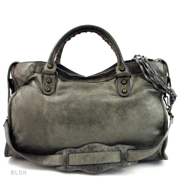 Balenciaga Gris Fonce (Grey) 2006 Chevre City (Authentic Pre Owned)
