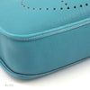 Hermes Veau Graine Coucherel Light Blue Evelyn I GM Stamped W (Authentic Pre Owned)