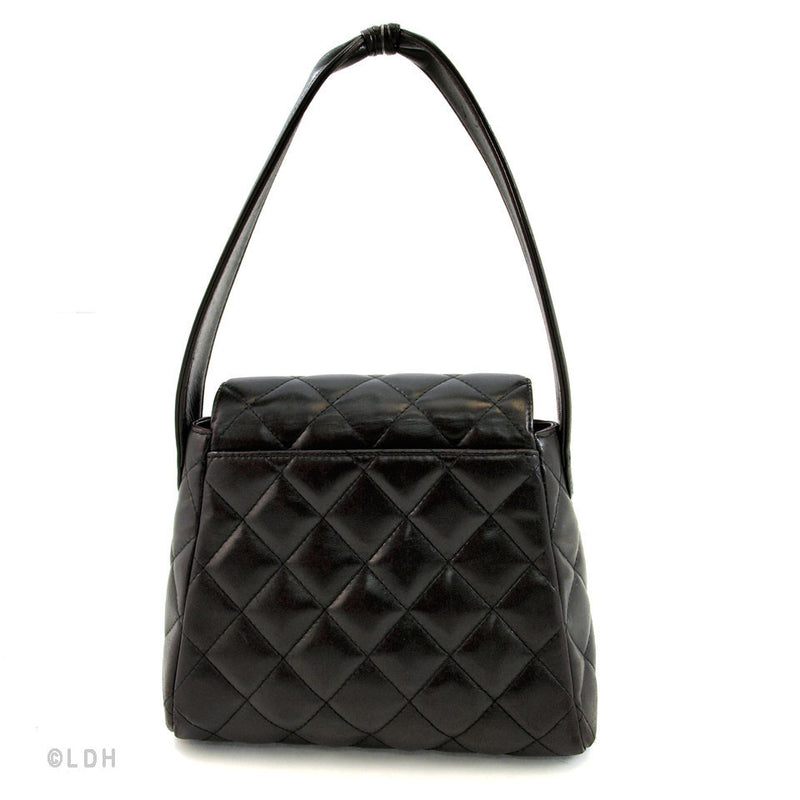 Chanel Black Quilted Shoulder (Authentic Pre Owned)