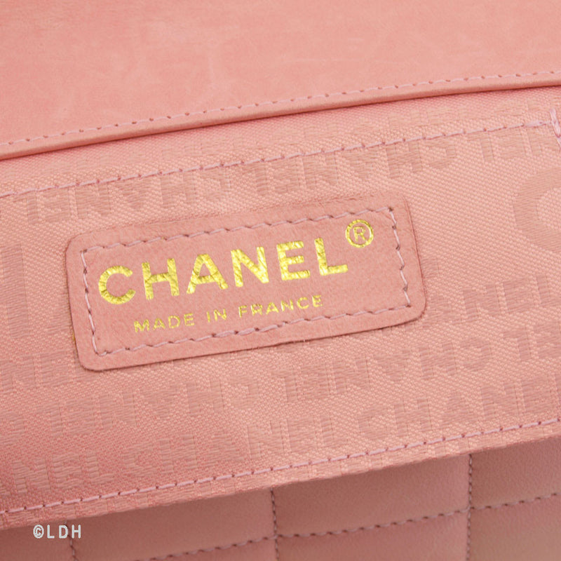 Chanel Pink Single Flap with Gold Hardware (Authentic Pre Owned)