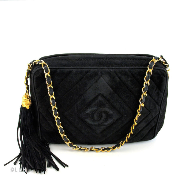 Chanel Suede Lambskin Camera (Authentic Pre Owned)