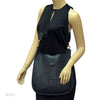Hermes Veau Graine Coucherel Black Evelyn I MM Stamped W (Authentic Pre Owned)
