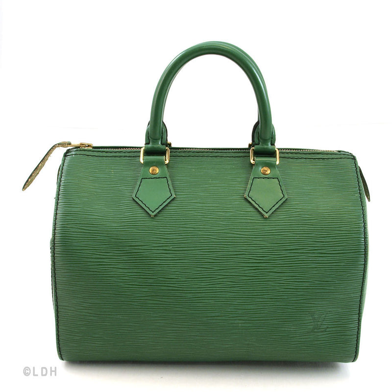 Louis Vuitton Green Epi Speedy 25 (Authentic Pre-Owned)