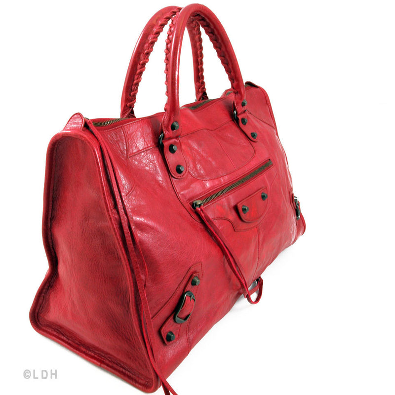 Balenciaga S/S 2009 Ruby Work Agneau (Authentic Pre Owned)