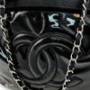 Chanel Black Patent Bon Bon Spirit Tote (Authentic Pre Owned)