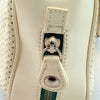 Chanel White Perforated Flap (Authentic Pre Owned)