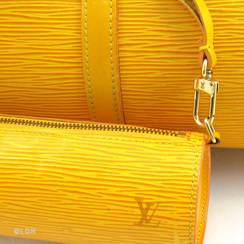 Louis Vuitton Yellow Epi Soufflot (Authentic Pre Owned)
