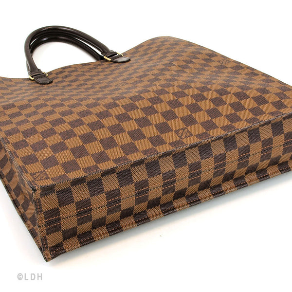 Louis Vuitton Damier Ebene Sac Plat (Authentic Pre Owned)