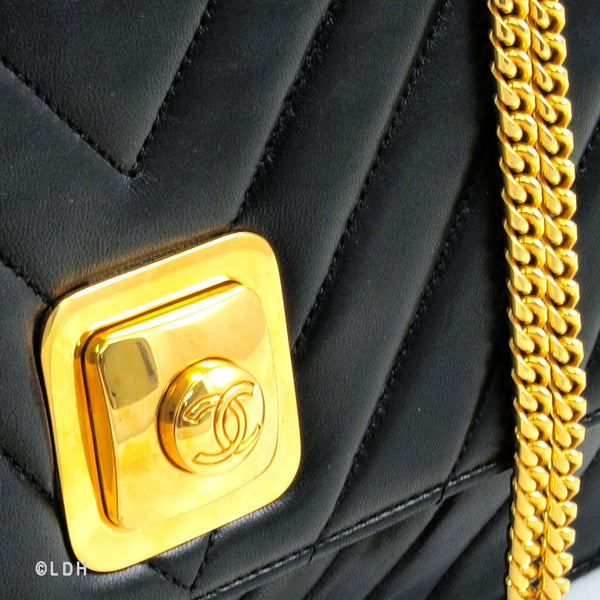 Chanel Vintage Lambskin Shoulder (Authentic Pre Owned)