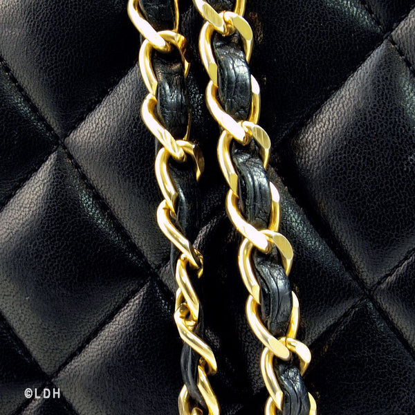 Chanel Lambskin Shoulder with Gold Hardware (Authentic Pre Owned)