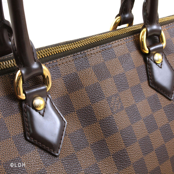 Louis Vuitton Damier Ebene Saleya MM (Authentic Pre Owned)